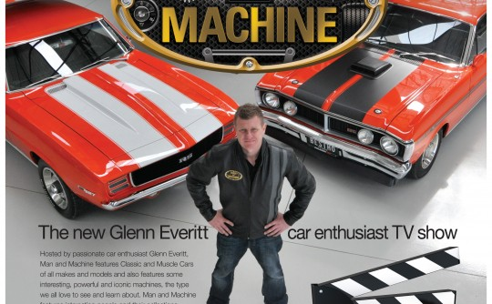 "Glenn Everitt's ""All New"" Man and Machine TV Show - Exclusive to Australia"