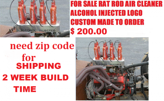 for sale rat rod air cleaner