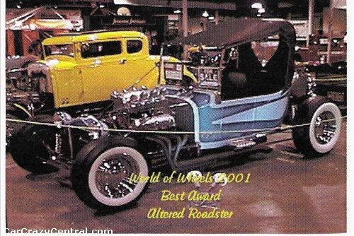 1923 Ford altered roadster