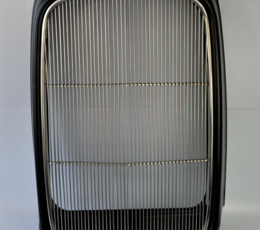 1932 model b/bb/18 stamped steel front grille shell+stainless grill insert