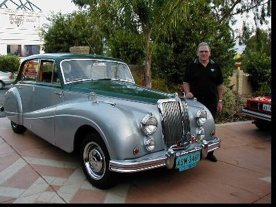 1953 Armstrong Siddeley Sapphire 346