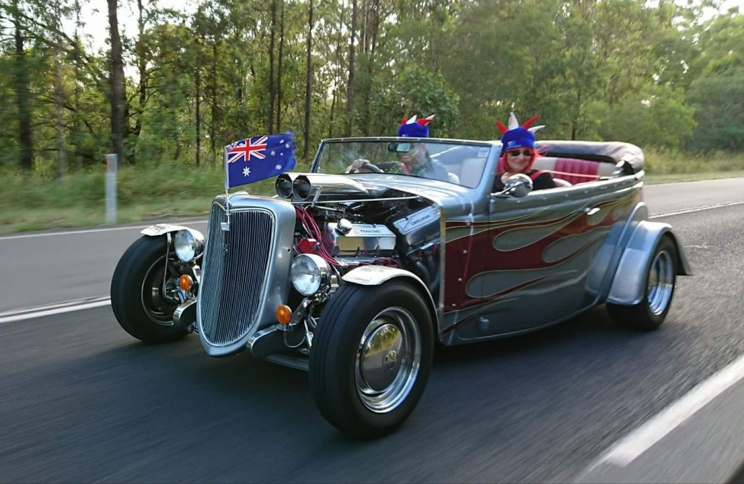 1936 Ford Ford touer