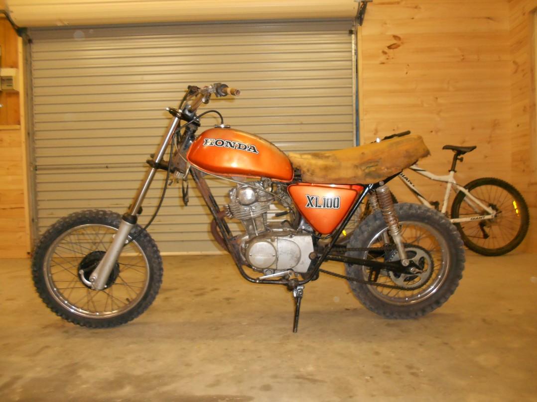 1994 Honda xl 100