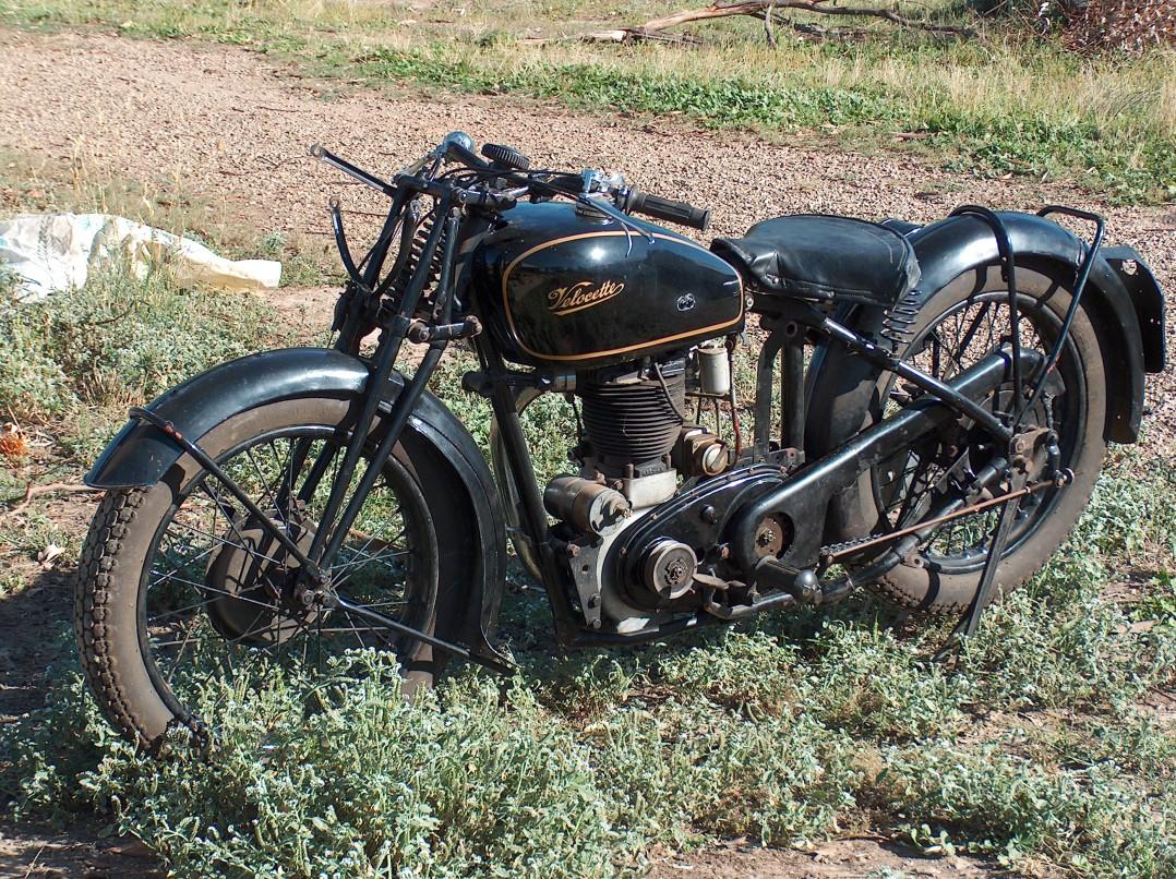 1938 Velocette MSS