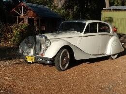 1949 Jaguar MkV