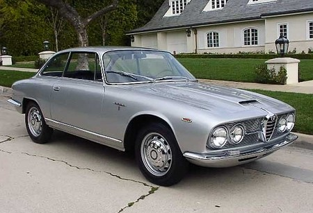 1967 Alfa Romeo 2600 Sprint Coupe
