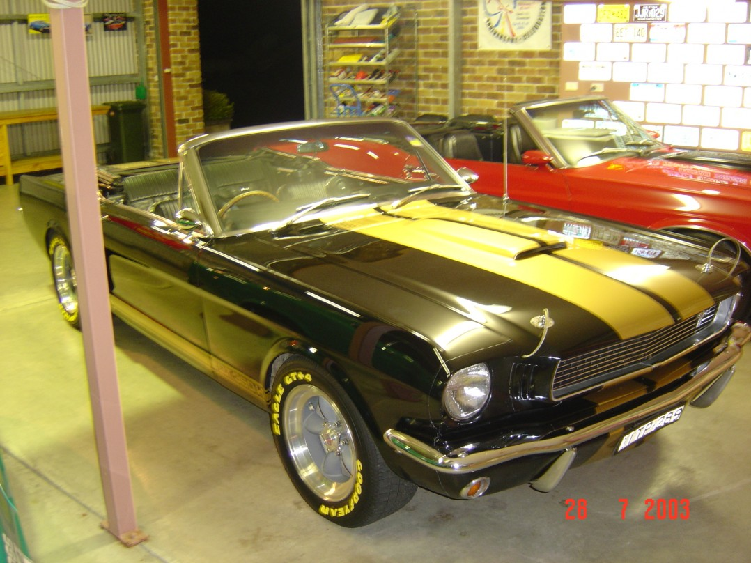 1966 Ford Mustang Shelby Hertz GT350 (Replica)