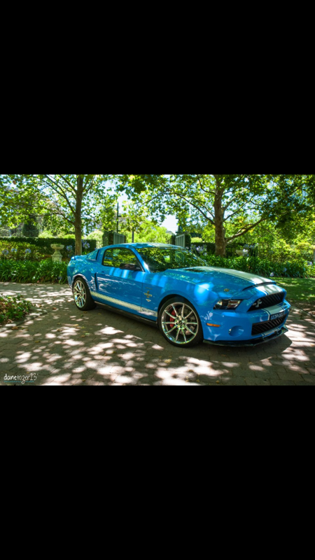 2012 Ford Mustang Shelby GT500 Super Snake