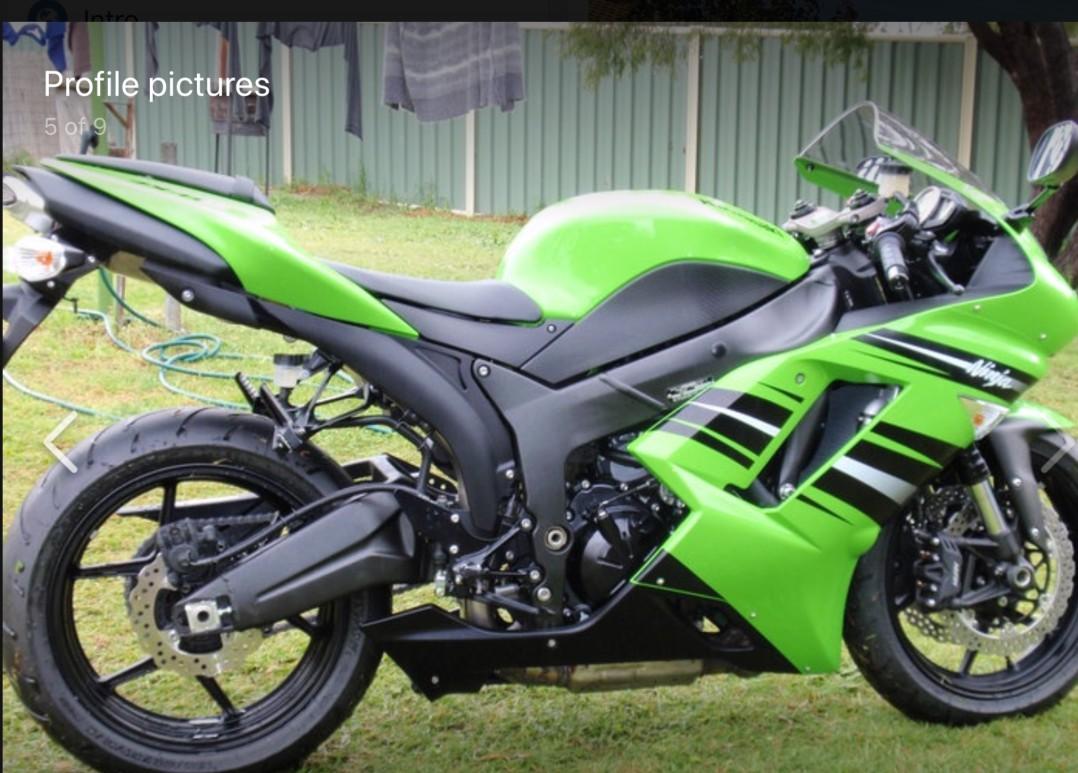 2010 Kawasaki Zxr600cc