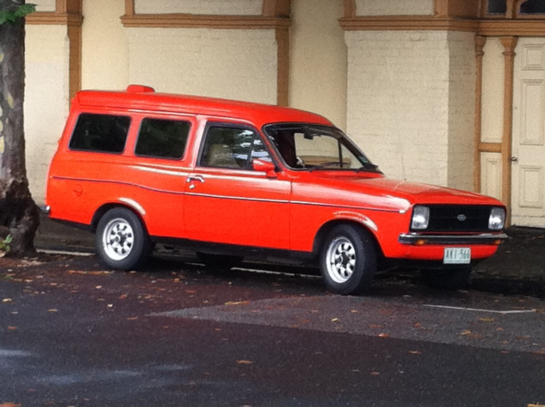 1979 Ford ESCORT GL PANEL VAN