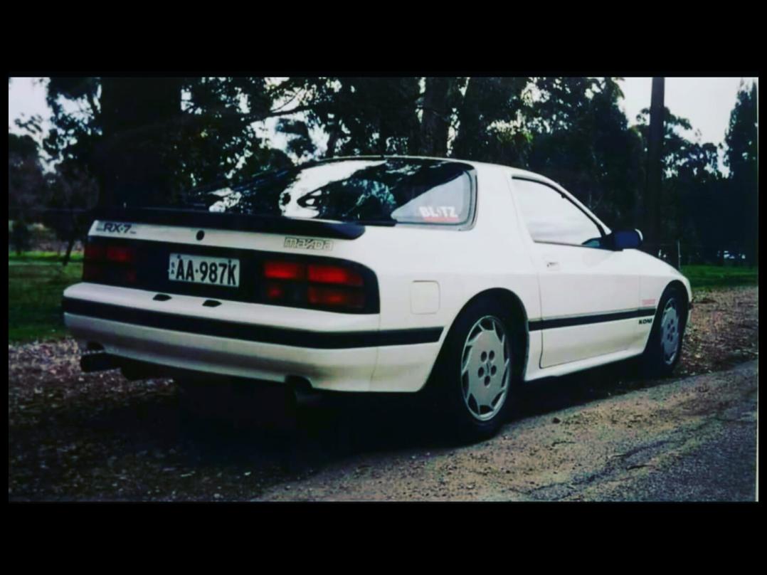1987 Mazda RX7 series 4