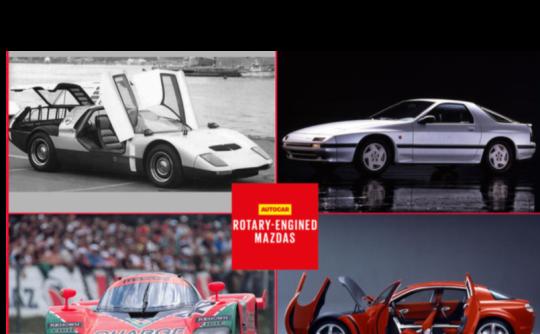 Mazda Rotary-Engined Hybrid for 2020