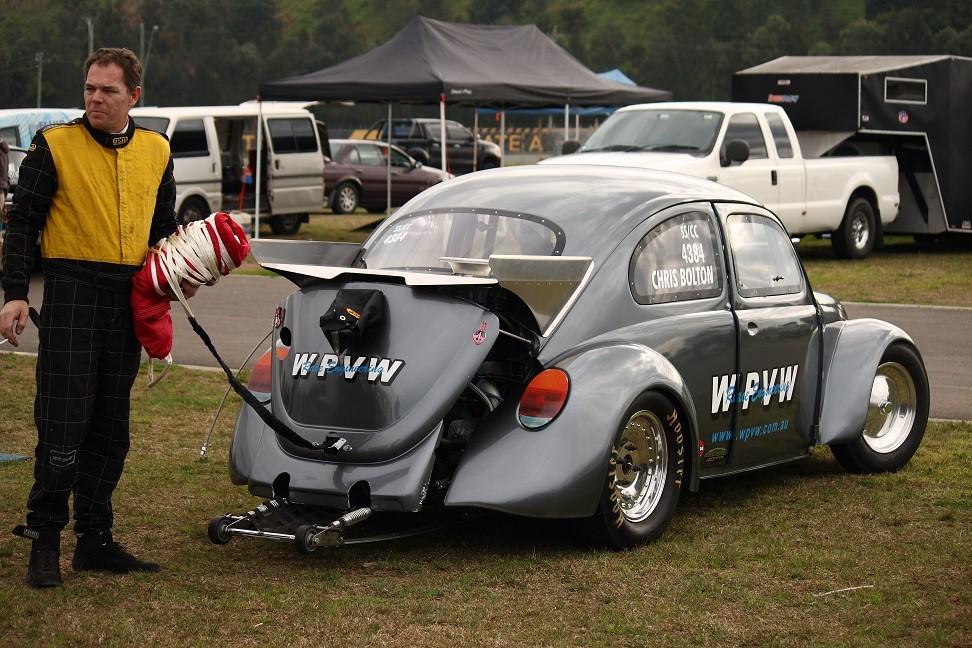 1967 Volkswagen Beetle drag car