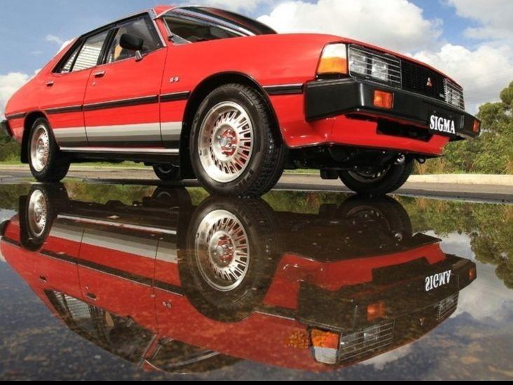 1981 Mitsubishi SIGMA GLX Peter Wherrett Special