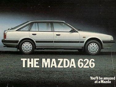 1986 Mazda 626 DELUXE