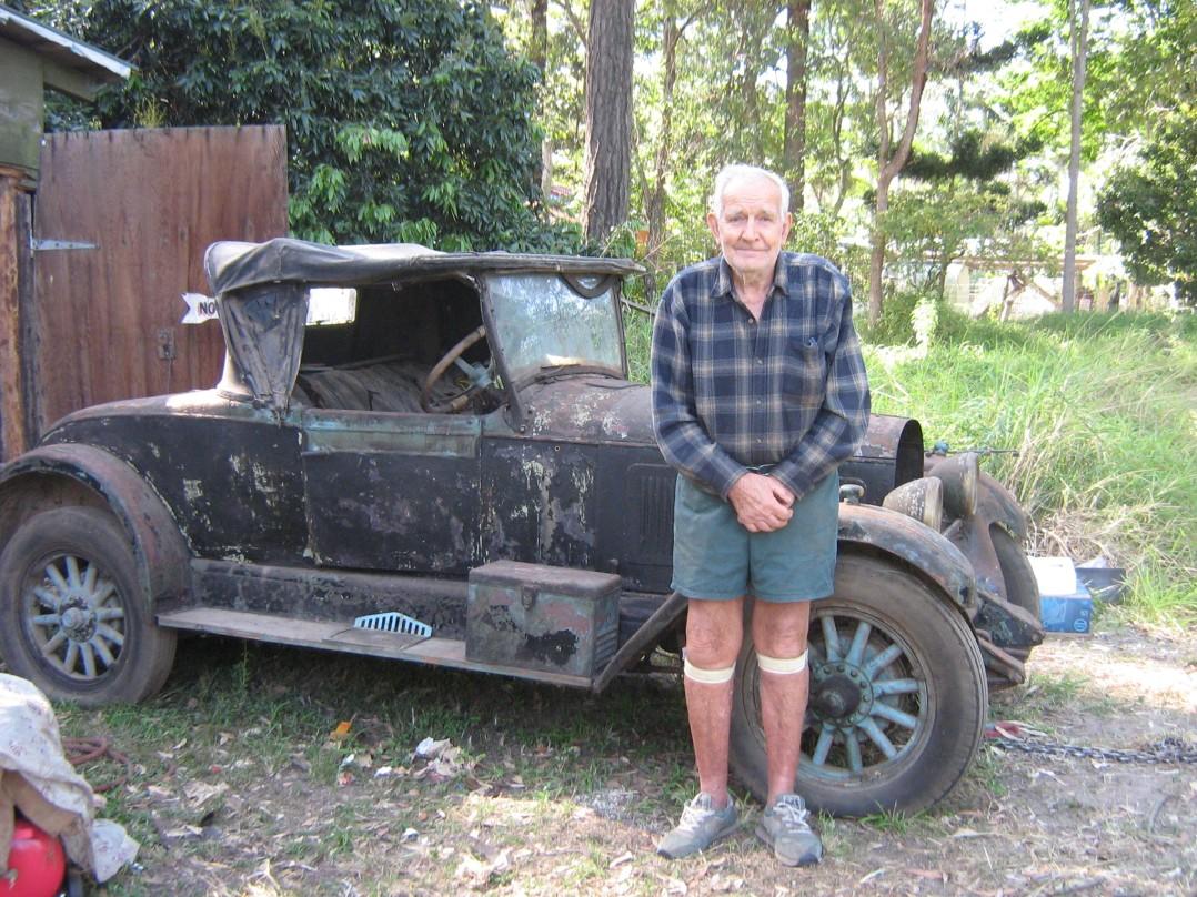 1926 Falcon-Knight Australian  Dickie seat Roadster