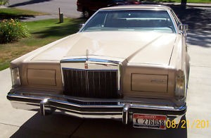 1979 Lincoln MKV Cartier Editon
