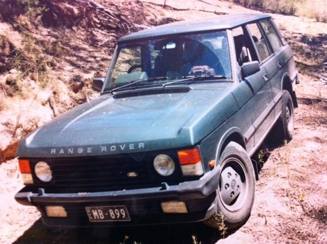 1989 Range Rover Vogue