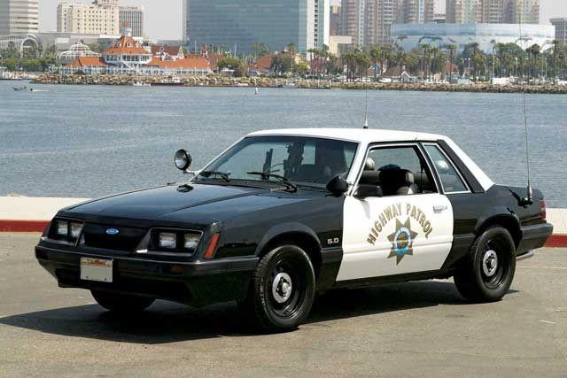 1986 Ford Mustang SSP Highway Patrol