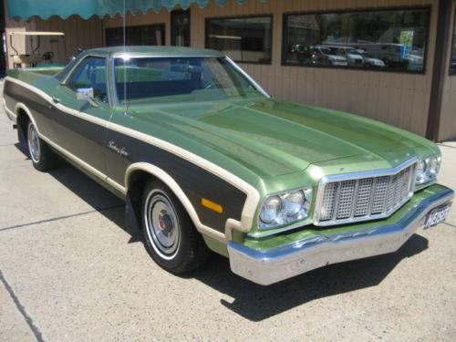1976 Ford Ranchero Squire
