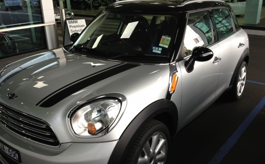 2012 Mini COOPER CLUBMAN CHILLI