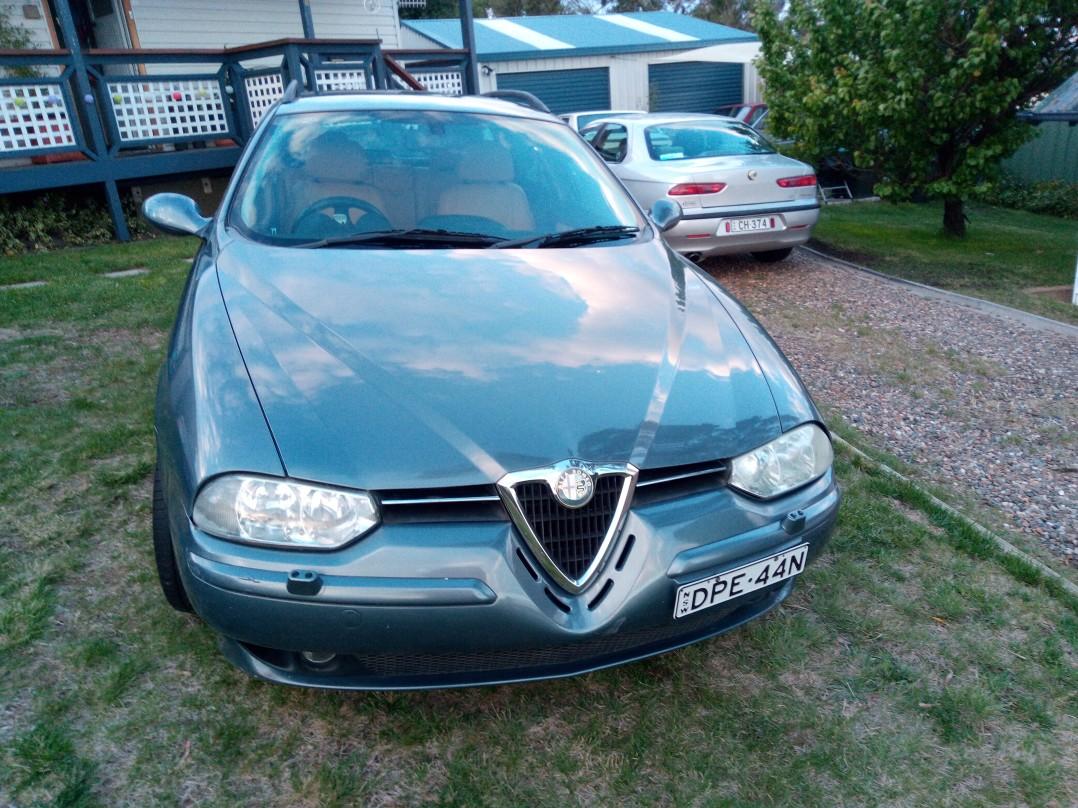 2003 Alfa Romeo 156 JTS