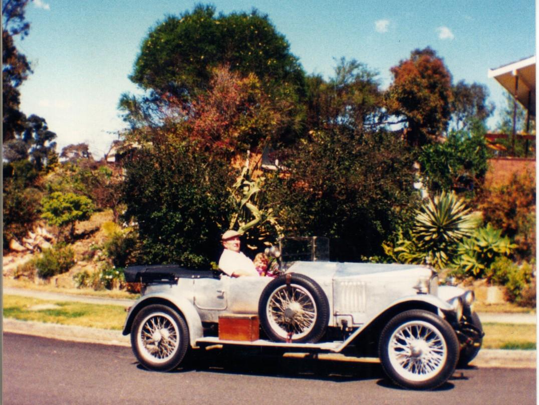1921 Vauxhall 30/98