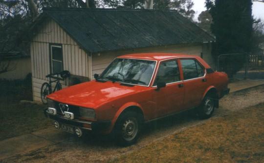 1982 Alfa Romeo ALFETTA 2.0L