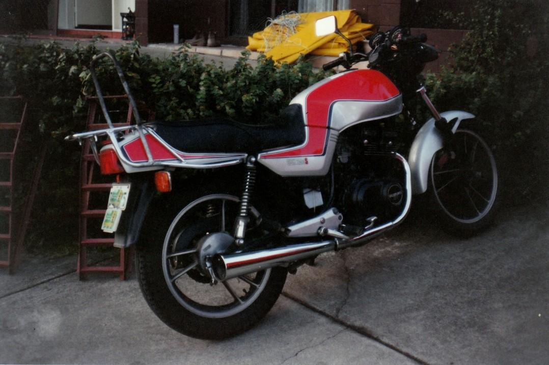 1980 Suzuki GSM250