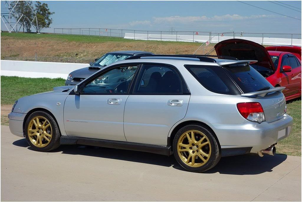 2003 Subaru WRX Shopping trolley