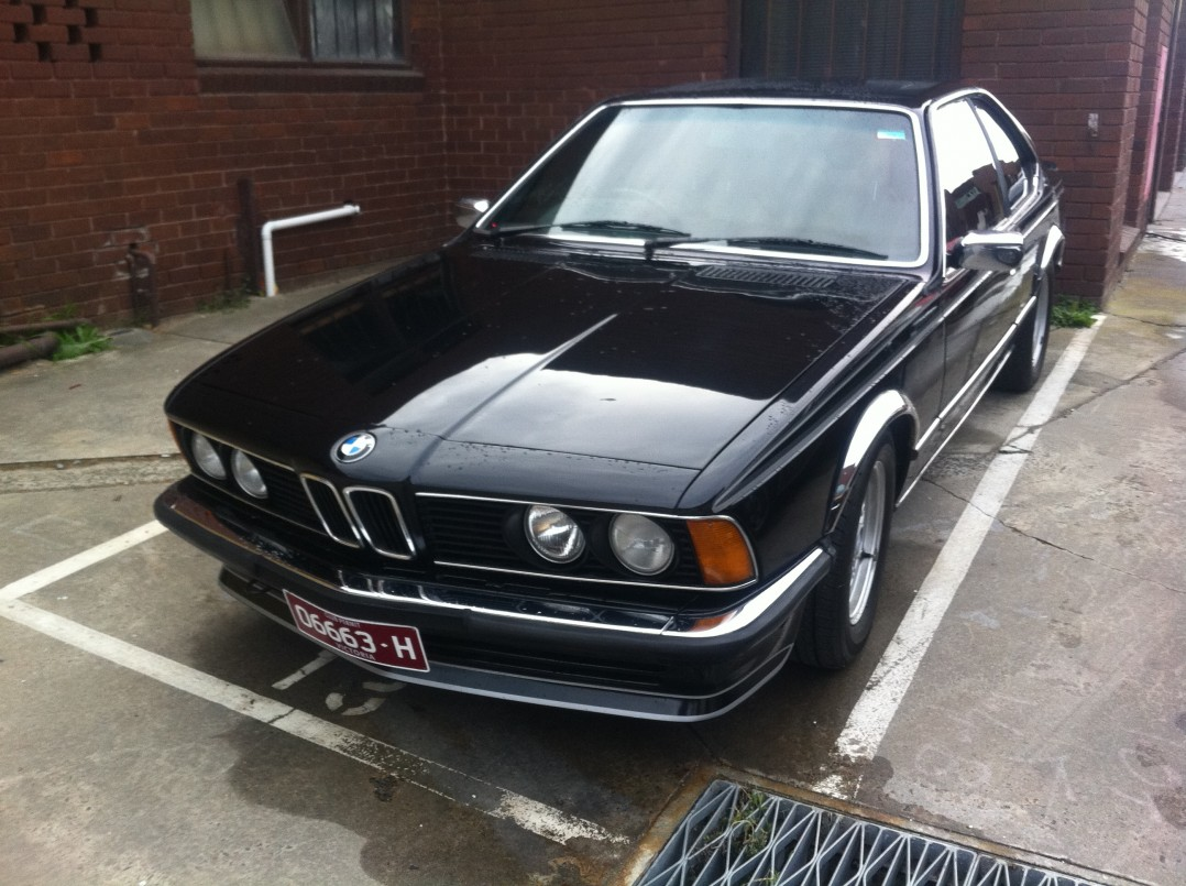 1980 BMW 635 CSi