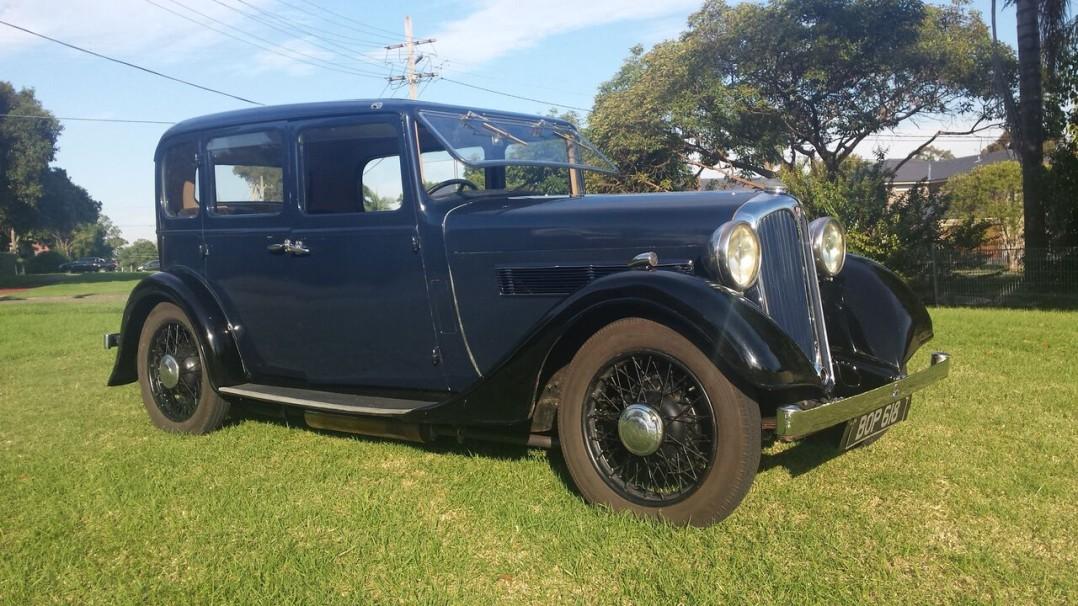 1935 Rover 10
