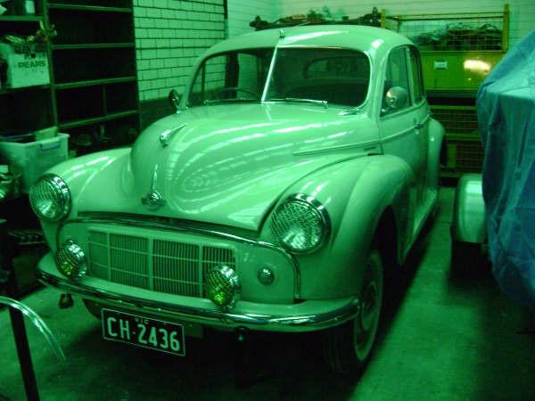 1956 Morris Minor Series II