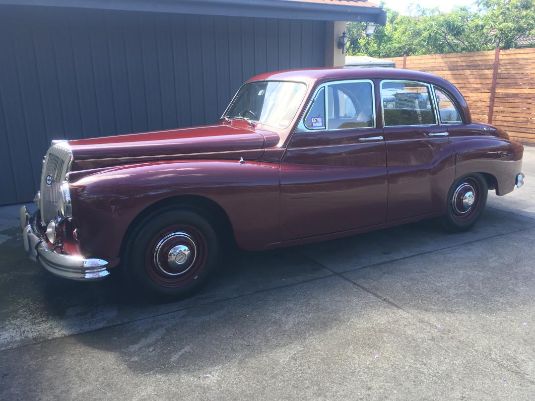 1956 Daimler One-O-Four