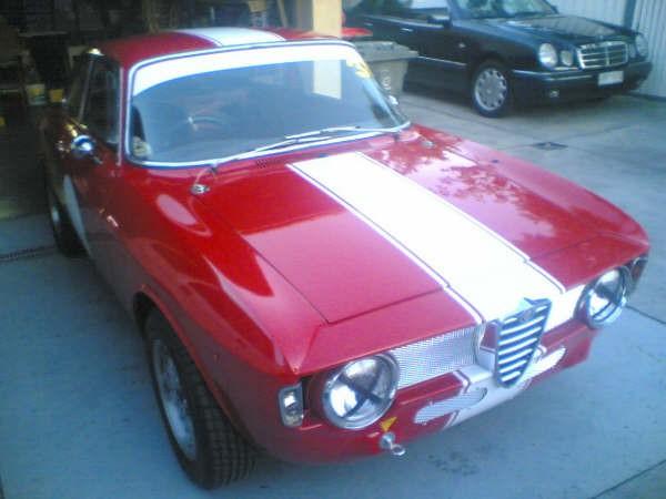 1965 Alfa Romeo Guilia GTV