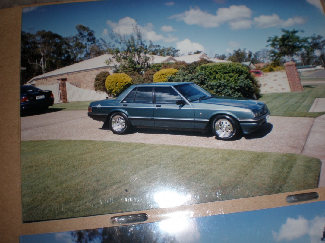 1985 Ford XF  Ghia