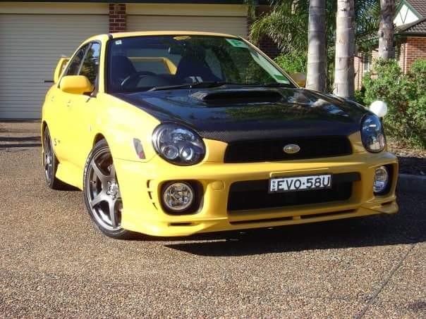 2002 Subaru IMPREZA WRX CLUB SPEC EVO 5 - Mantis - Shannons Club