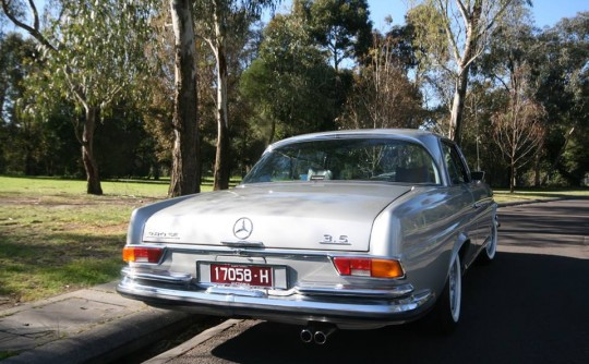 1971 Mercedes-Benz W111, 280SE  3.5