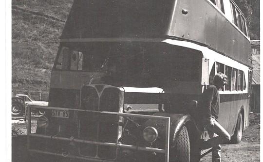 1979 1960's AEC Sydney Double Decker Bus