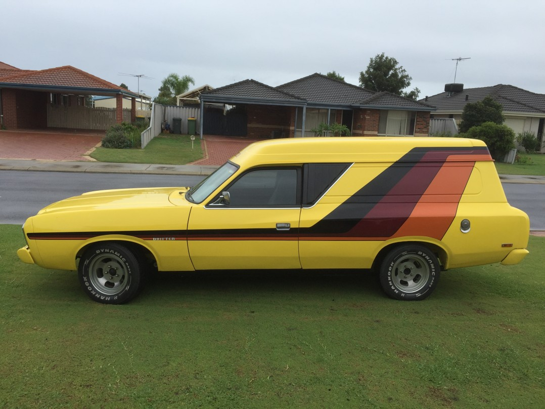 1977 Chrysler drifter panel van CL