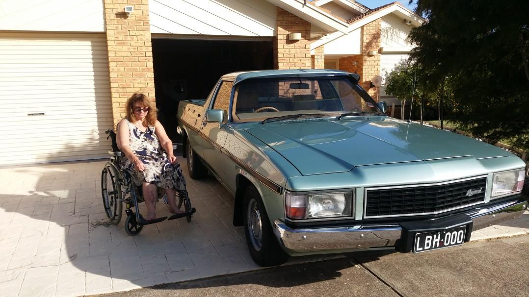 1983 Holden WB
