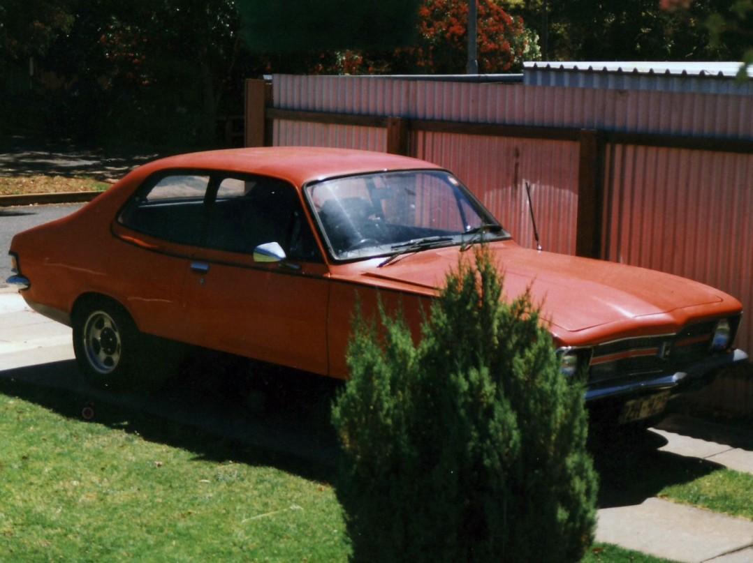 1972 Holden TORANA GTR XU-1
