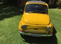 2 x FIAT 500