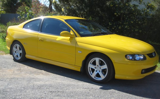 2002 Holden Monaro CV6