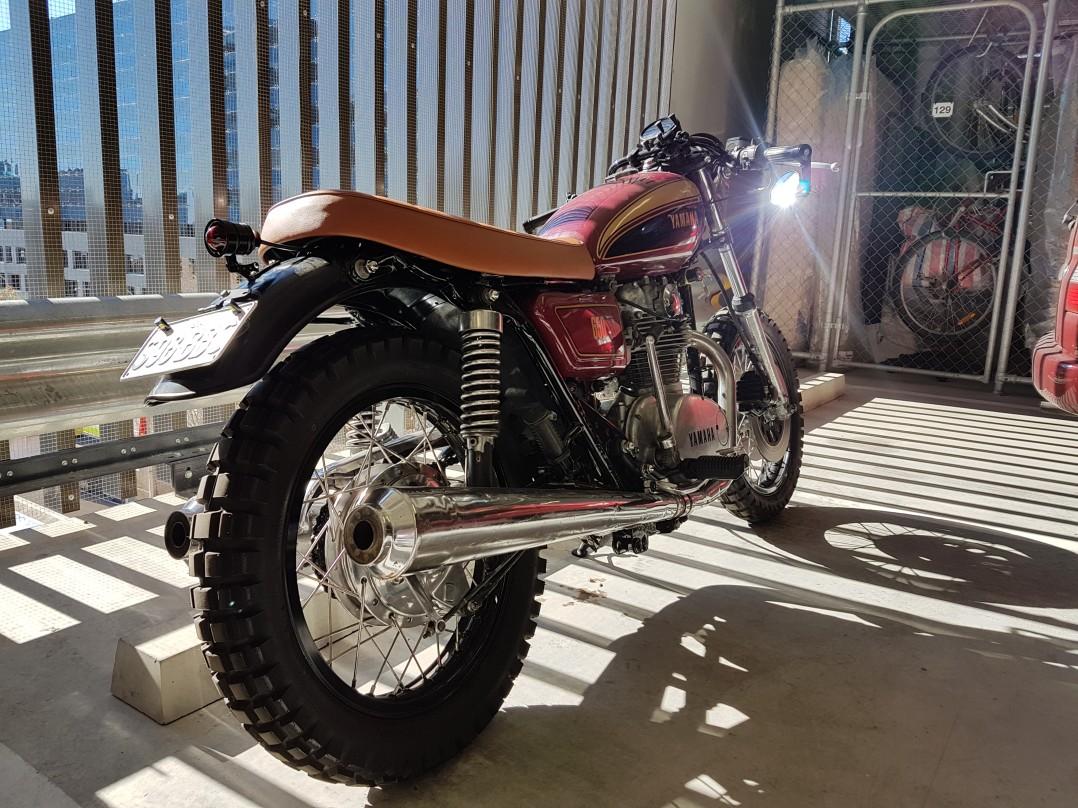 1981 Yamaha XS650 - SteveFF - Shannons Club
