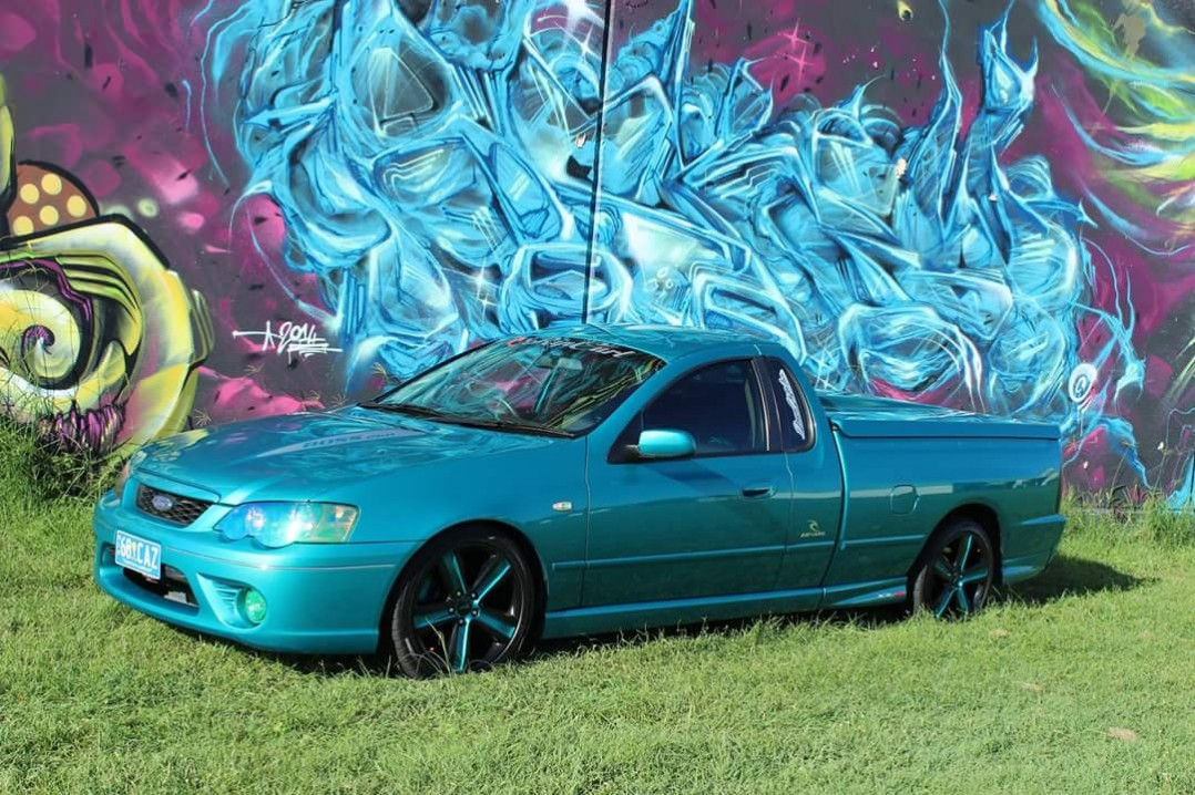 2007 Ford Performance Vehicles BF XR8 Ripcurl