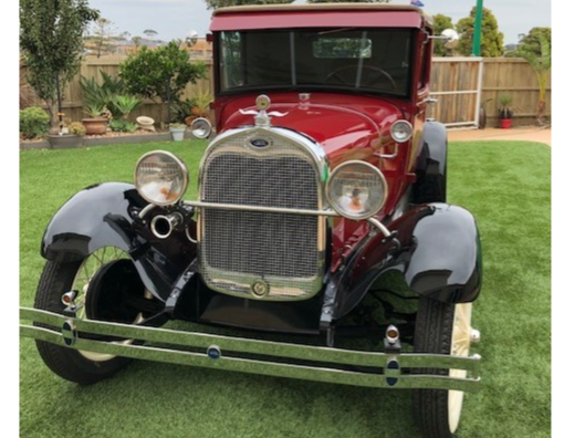 1928 FORD A SPORTS COUPE