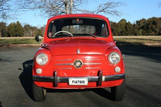 1962 Fiat 600D