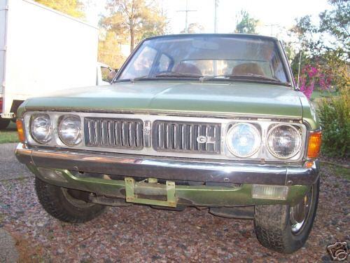 1973 Mitsubishi GB Galant