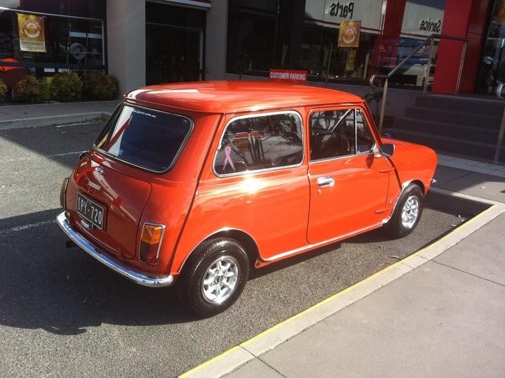 1973 Leyland Mini Clubman